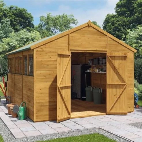 Garden Buildings Direct apex shed