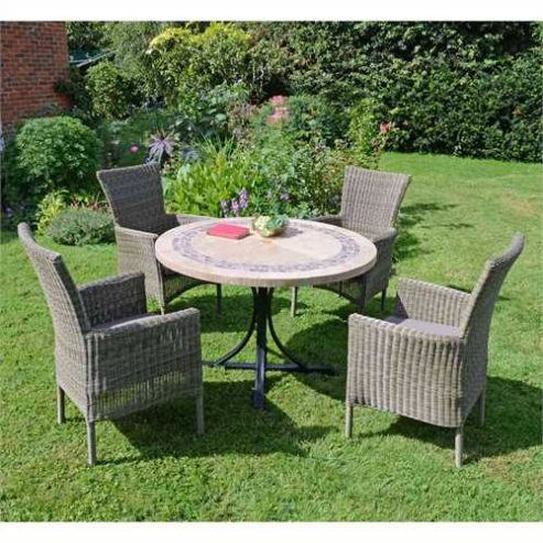 Greenfingers 4 seater dining set