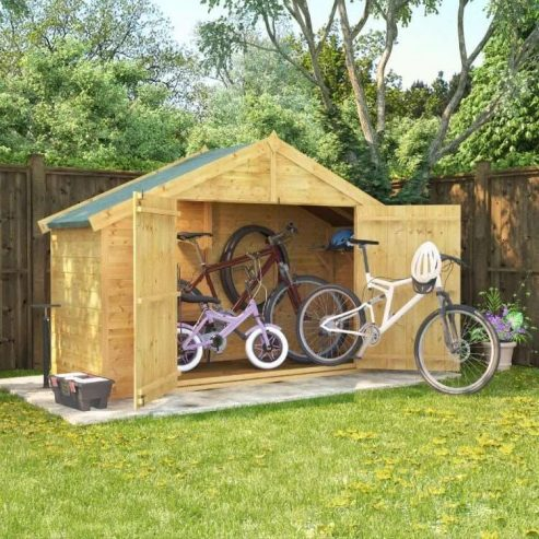 Garden-Buildings-Direct-3×8-cycle-store